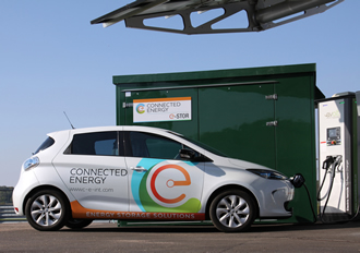 Inverters help energy storage to support EV rapid charging