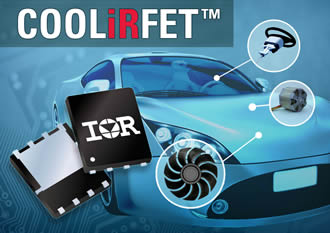 AEC-Q101 qualified power MOSFET reduces overall system cost