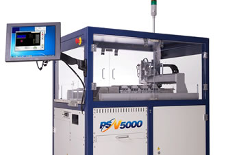 Automated programming system delivers 1300 parts per hour