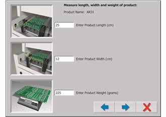 Automatic oven setup tool bypasses trial & error approach