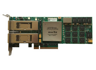 Board integrates 20nm FPGA for 100/40/10GigE connectivity