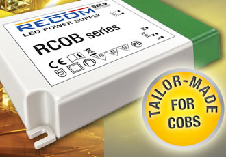 COB LED driver suits a wide range of applications
