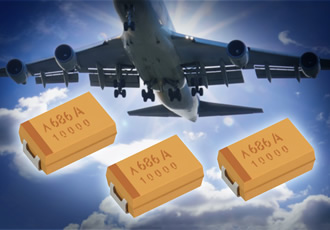 COTS+ tantalum capacitors suit critical military systems