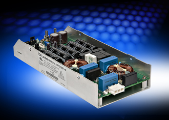 Conduction cooled power supplies are rated at 1,000W