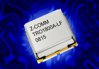 Ceramic resonator VCO is 70% smaller than competitors