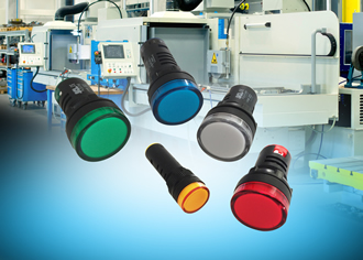 Colour-coded pilot lamps enable quick & easy installation