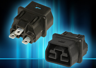 Connectors for 380-400V DC power distribution systems