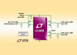 DC/DC controller targets automotive start/stop systems