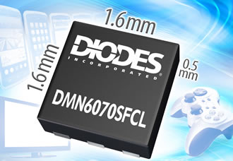 60V MOSFET for cellphones and ultra-thin LCD TVs