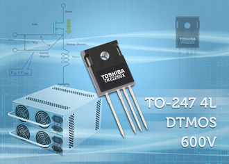 DTMOS IV-H MOSFETs now offered in four pin TO-247 package