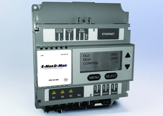DIN rail-mount smart meters for building automation