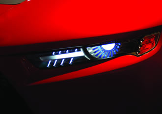 Driving automotive LED forward lighting systems