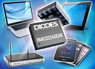 Dual DC/DC converter maximises portable device battery life