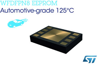 EEPROMs are available in densities from 2KB to 512KB