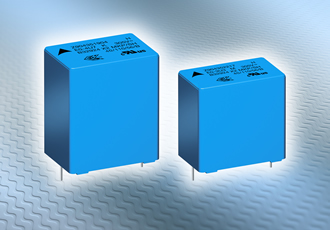 EMI suppression capacitors feature self-healing dielectric