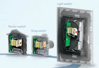 Energy harvesting RF switches suit easy integration
