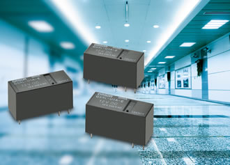 Energy-saving latching relays for lighting control