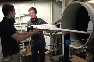 Engineering students create volcano-monitoring UAS
