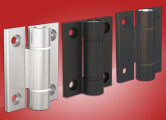 Hinges offer spring openings in free moving or torque mode
