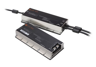 Fanless power supplies deliver 600W from -40 to +85°C