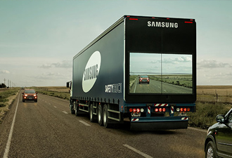 Find out when it is safe to overtake a lorry