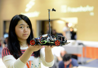 Beijing tech students stay on track to win Freescale Cup