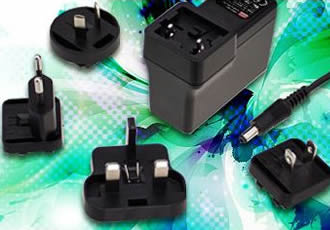 Medical adaptors include four-way interchangeable AC plug