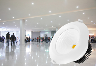 "6"" recessed LED down lights deliver over 100lm/W"