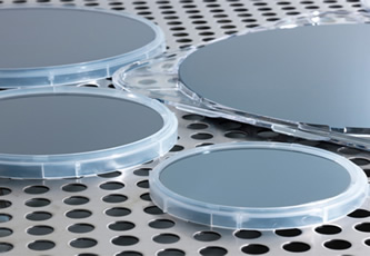 GaN-on-Si epi-wafers for HEMT devices on display at PCIM