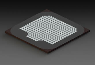 GaN-on-Silicon technology enhances large area LED die