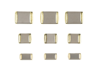 Gold plated terminations for 200°C ceramic capacitors
