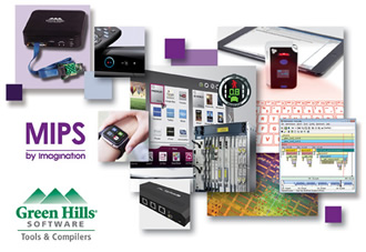 Green Hills now supports extended range of ImgTec MIPS CPU IP