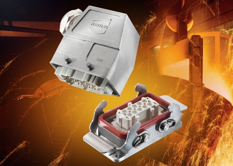 Industrial connectivity boosted with high-temp connectors
