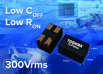 High voltage photorelays in the industry's smallest package