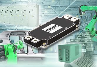 High-power SiC module suits solar & industrial applications