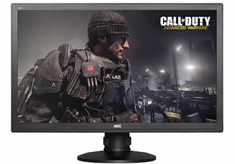 High-speed monitors to enhance gaming tournaments