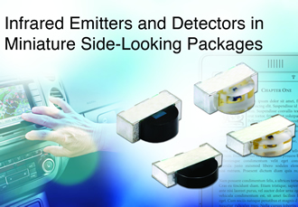 IR emitters and photodiodes are AEC-Q101-qualified