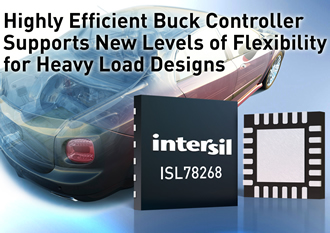 55V buck controller targets automotive applications
