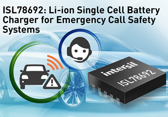 Li-ion battery charger extends life of eCall systems