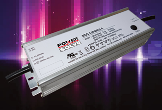 150W LED drivers suit in- and outdoor applications