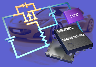 MOSFET protects ECUs against reverse-battery connection