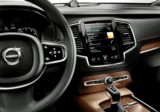 MOST selected for use in Volvo XC90