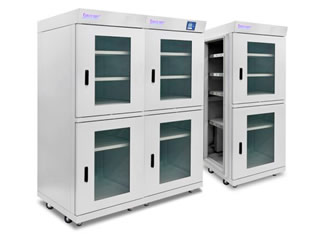 Cabinets reduce extended storage space costs by 50%