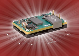 40W DC/DC converter suits smart grid applications