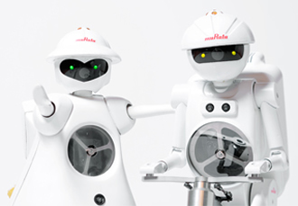 Murata exhibits celebrity robots at electronica India