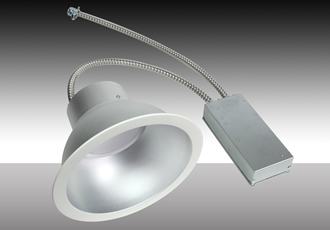 Recessed retrofit downlights provide 80lm/W