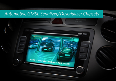 Chipsets allow ADAS design with reduced cost & EMI