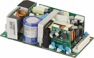 Medical open frame power supplies perform in low airflow conditions