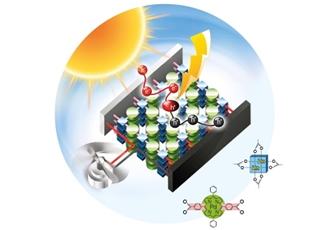 Metal-organic framework enables single-component PV