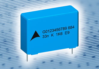Metallised PP film capacitors offer high pulse strength